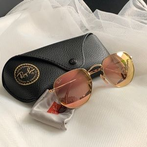 Ray-Ban RB3548N hexagonal sunglasses